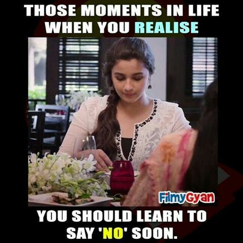 Pin By Afeeda Sherin On Memes Learning To Say No When You Realize In This Moment