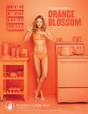 Body Glove Smoothies Campaign  By Brune & Blonde  Color - Orange Blossom