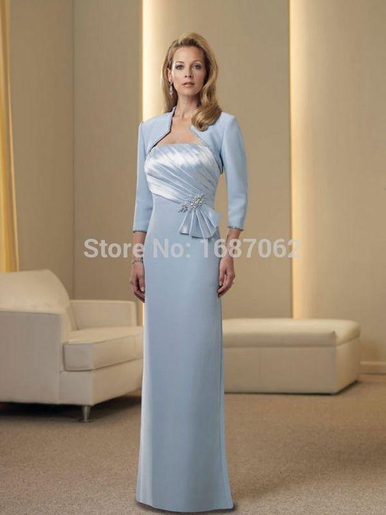 Cheap Vestidos de fiesta madrina madrina vestido de los vestidos ocasionales de la madre del novio madre de la novia viste más el tamaño para bodas, Compro Calidad Vestidos para Madre de la Novia directamente de los surtidores de China:                                                                      (1) color: