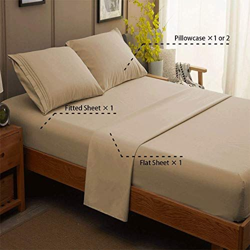 The 5 Best Airbnb Bed Sheets 2020 Review Cotton Microfiber And More In 2020 Bed Sheet Sets Luxury Bed Sheets Bed Sheets