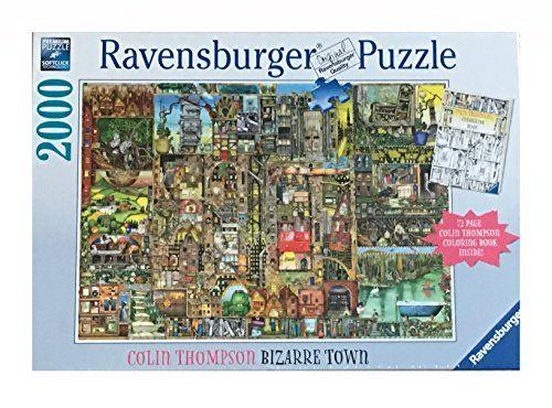 Ravensburger 2000 Piece Puzzle And Coloring Book Set Biz Https Smile Amazon Com Dp B077vt3mmd Ref Cm S Coloring Book Set 2000 Piece Puzzle Coloring Books