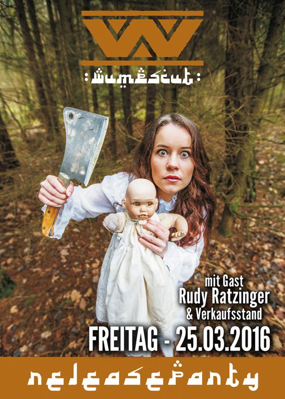 Freitag, 25.03.16 - http://darkflower.club/blog/events/wumpscut-release-party-the-prodigy-fan-party