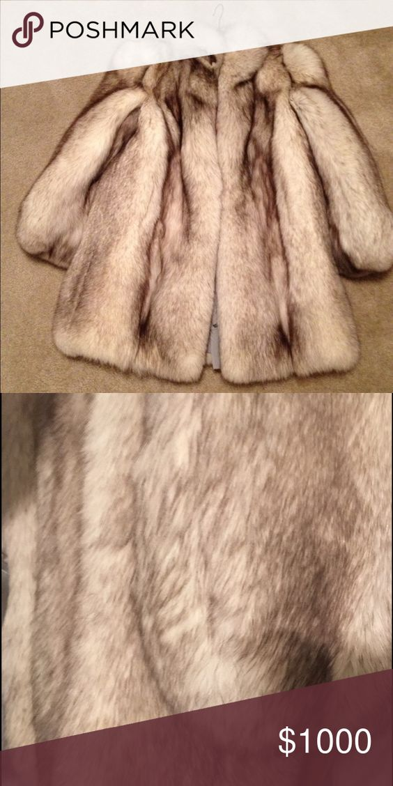 Silver fox coat. I bought it in Argentina. Silver fox fur coat. Made in Argentina. Jackets & Coats