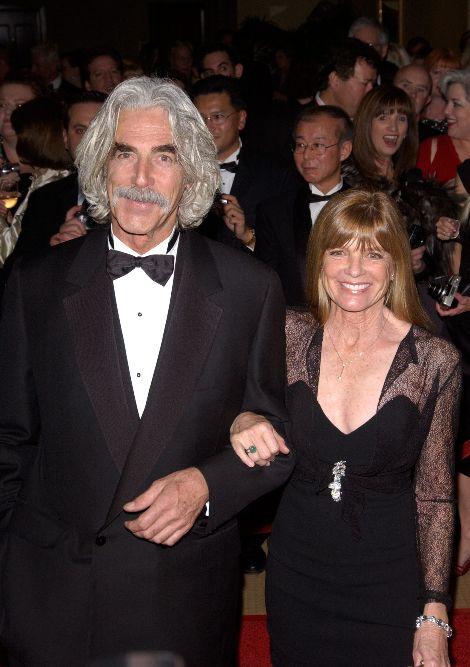 Katherine Ross and her current husband Sam Elliott