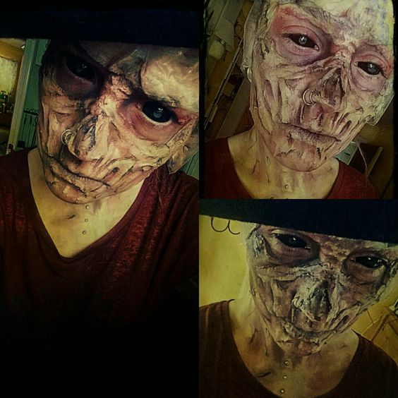 Check our our other pin boards about make up FX processes etc. Match them up with scleras and they look immense.