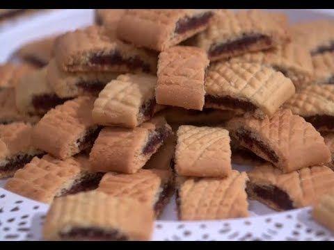 طريقه عمل بسكويت التمر الشيف فاطمه ابو حاتي Youtube Cooking Recipes Food
