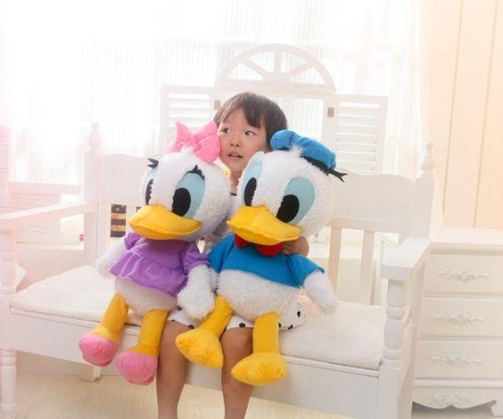 $22.88 (Buy here: https://alitems.com/g/1e8d114494ebda23ff8b16525dc3e8/?i=5&ulp=https%3A%2F%2Fwww.aliexpress.com%2Fitem%2F2015-free-shipping-hot-Donald-Duck-Daisy-Duck-cotton-plush-toys%2F32346540732.html ) 2016 free shipping hot Donald Duck, Daisy Duck cotton plush toys Stuffed & Plush Animals for just $22.88