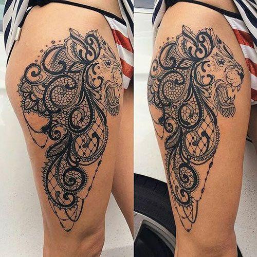 125 Best Thigh Tattoos For Women Cute Ideas Designs 2019 Guide Girl Leg Tattoos Thigh Tattoos Women Thigh Tattoo Designs