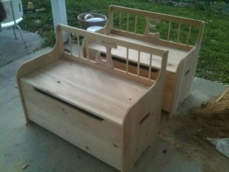 Wood Toy Box Building Plans | Toy Box Plans? - General Woodworking ...