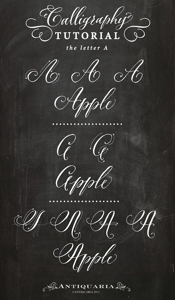 Calligraphy Tutorial Calligraphy And Letters On Pinterest