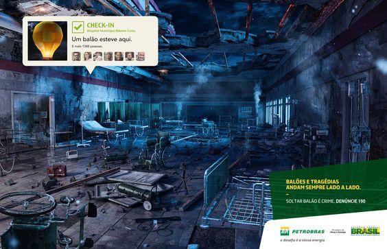 Balão - Petrobras - Felipe Gomes / Art Director / Design