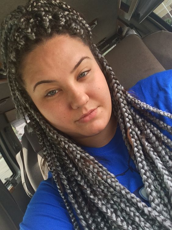 Jumbo braids, Poetic justice and Gray on Pinterest