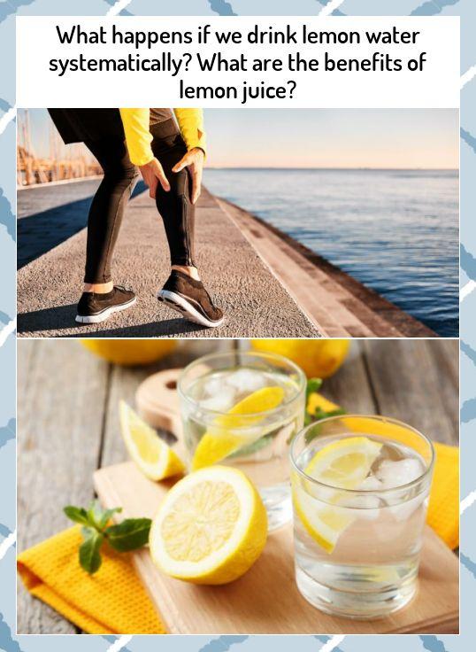 Lemon water benefits 46596