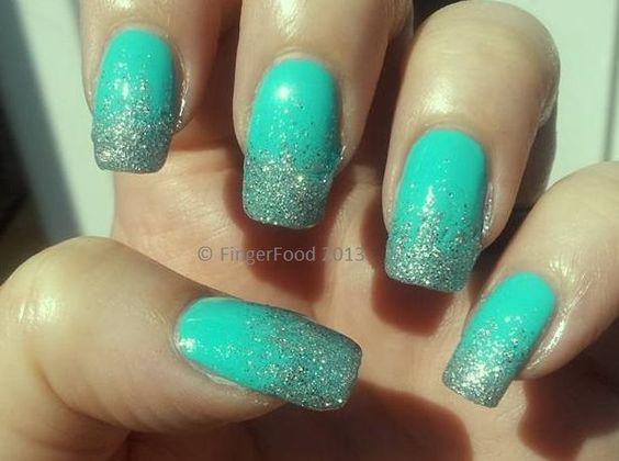 #MintManisForTaliaJoy by FingerFood  www.facebook.com.fingerfoodnail