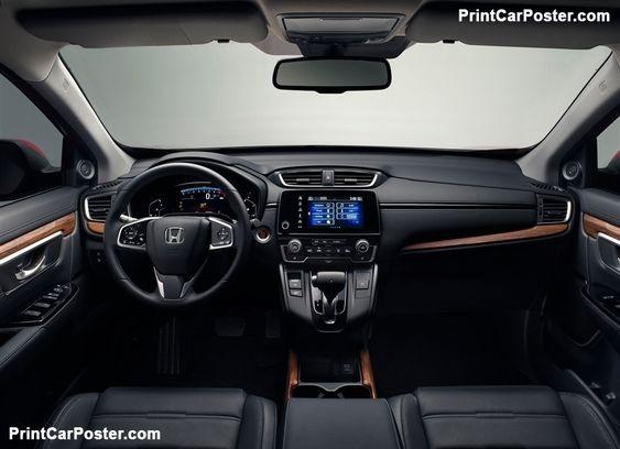 Honda Cr V Eu 2019 Poster Id 1345287 Honda Crv Interior Honda Crv Honda Hrv Interior