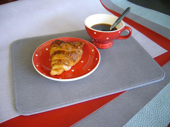 """Grâce à L'Éclat de Verre Encadreur apprenez à réaliser d'élégants sets de table ! Suivez toutes les étapes du tuto """"breakfast time""""."""
