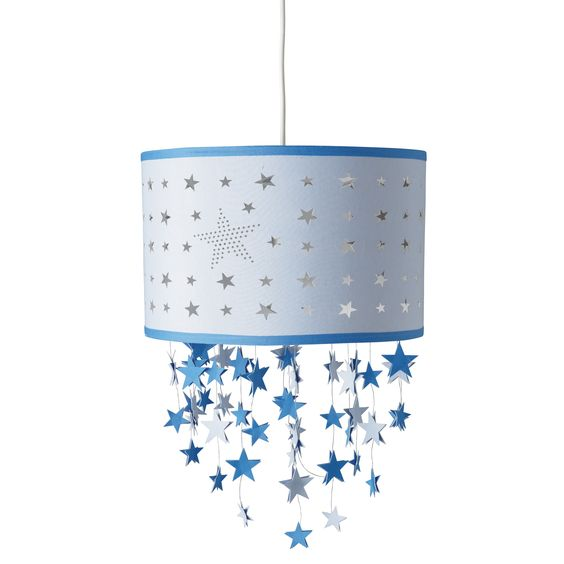Blue Stars Mobile Ceiling Shade Star Mobile Boy Rooms