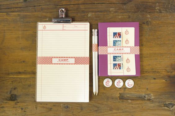 order your's here!    http://phdesignshop.bigcartel.com/product/camp-stationery-set