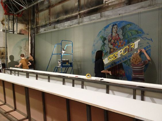Painting the BP screen for Figaro