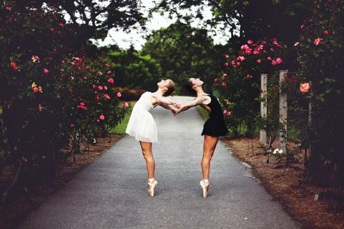 Great dancers are great because of their passion.