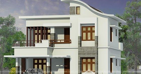 1787 Square Feet 3 Bedroom Modern House Architecture With Images