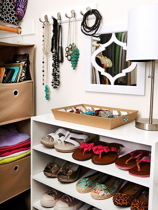 25 creative ideas for master bedroom storage closet Rooms without closets creative