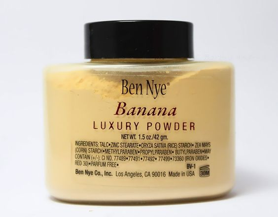 I have heard great things about this powder and I will soon be buying & Using the Ben Nye Banana Powder
