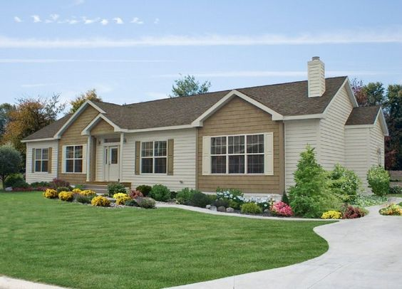 Ranch style ranch style homes and curb appeal on pinterest for Ranch house curb appeal