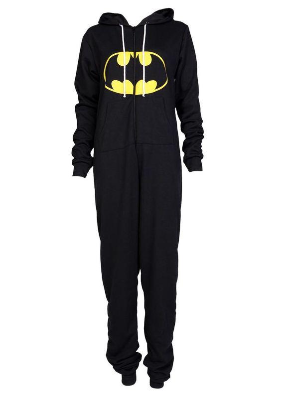 Adult Batman Print Onesie - Womens Clothing Sale, Womens Fashion, Cheap Clothes Online | Miss Rebel