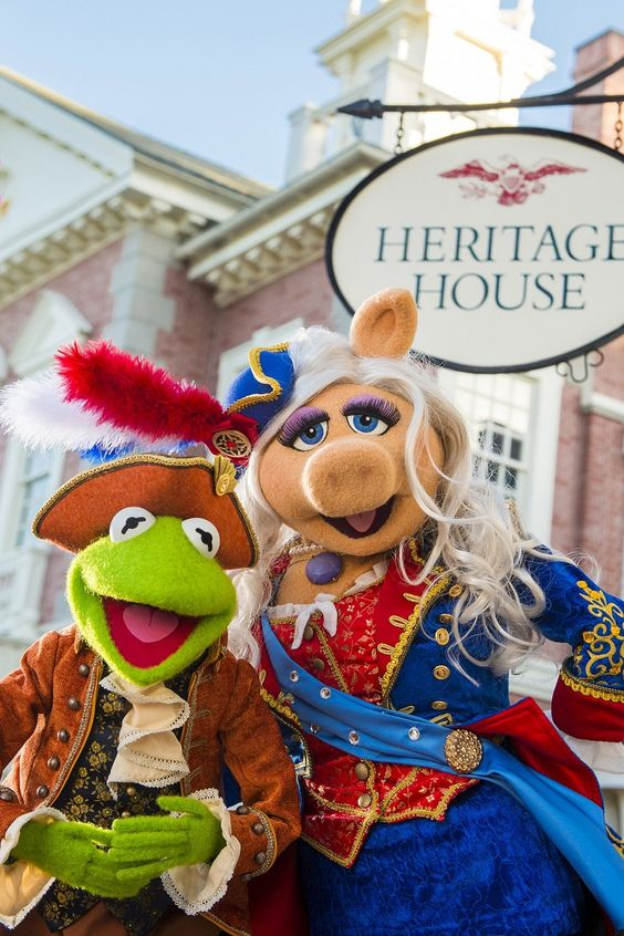Disney muppet show Magic Kingdom