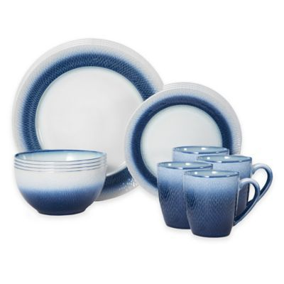 Pfaltzgraff® Eclipse Dinnerware Set in Blue. Casual Dinnerware - Round  sc 1 st  Pinterest & 17 Best images about Casual Dishes on Pinterest | Coupe Aladdin and ...