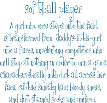 softball player :