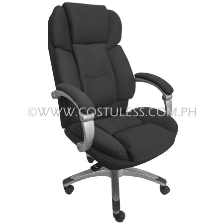 """Product Code: LUXE Sale Price:P10 999.00 Description: Ergodynamic™ Recligning Luxury High Back Office Chair """"the softest chair in the world""""   Brand: ERGODYNAMIC  Product Measurement: D76*W66.5*H116.5-125.5cm  Chair Capacity: 100kgs.  Classification: HEAVY DUTY  Usage: OFFICE USE"""