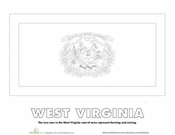 west virginia flag facts