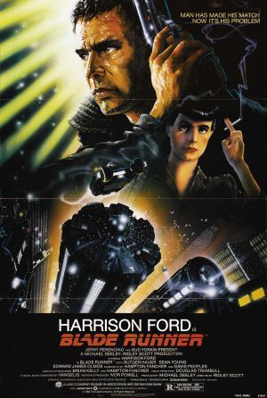 The best movie of 1982 was an instant cult hit but was a financial failure. It wasn't until the video release that it became a hit.: Blade Runner, Favourite Film, Movie Poster, Favorite Movie, Film Poster, Favourite Movie