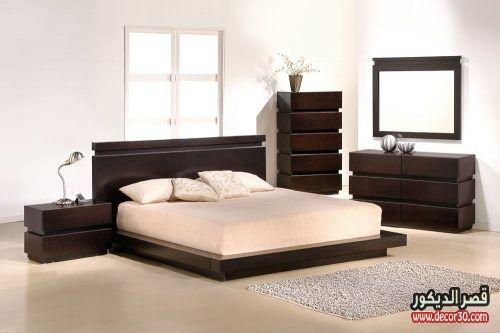 الوان خشب غرف نوم from i.pinimg.com