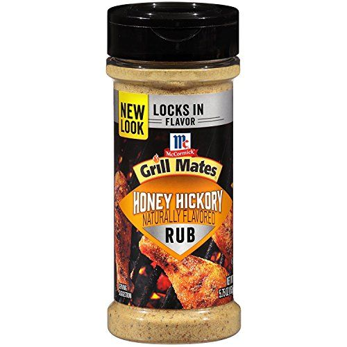 Mccormick Grill Mates Honey Hickory Rub 5 75 Oz In 2020 Grilling Grilling Season Flavors