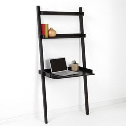 Leaning Desk Desks And Container Store On Pinterest