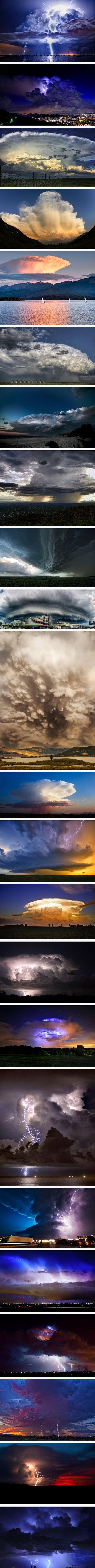 Nubes de tormenta...