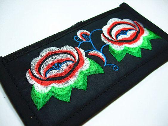 Handmade Embroidered tribal Baginterlayer by dermusensohn2000, $12.99