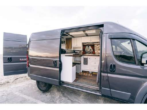 2017 Dodge Ram Promaster In Carlsbad Ca Campervan Interior Van Ram Promaster