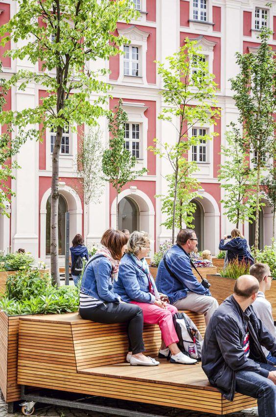 Outdoor fitness monkey bars (Copenhagen, København, CPH, KBH - holzbank für küche
