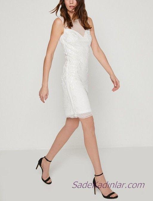 Koton Beyaz Elbise Modelleri Ile Bas Dondurucu Siklik 2020 Elbise Modelleri The Dress Elbise