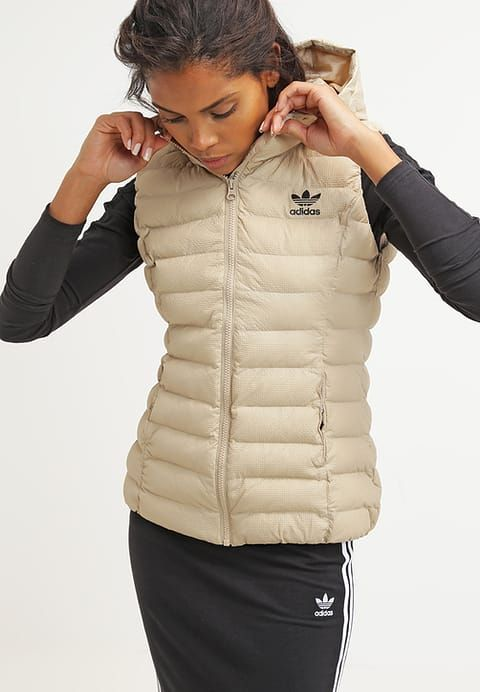 adidas originals slim fit - bodywarmer - clabro dames ...