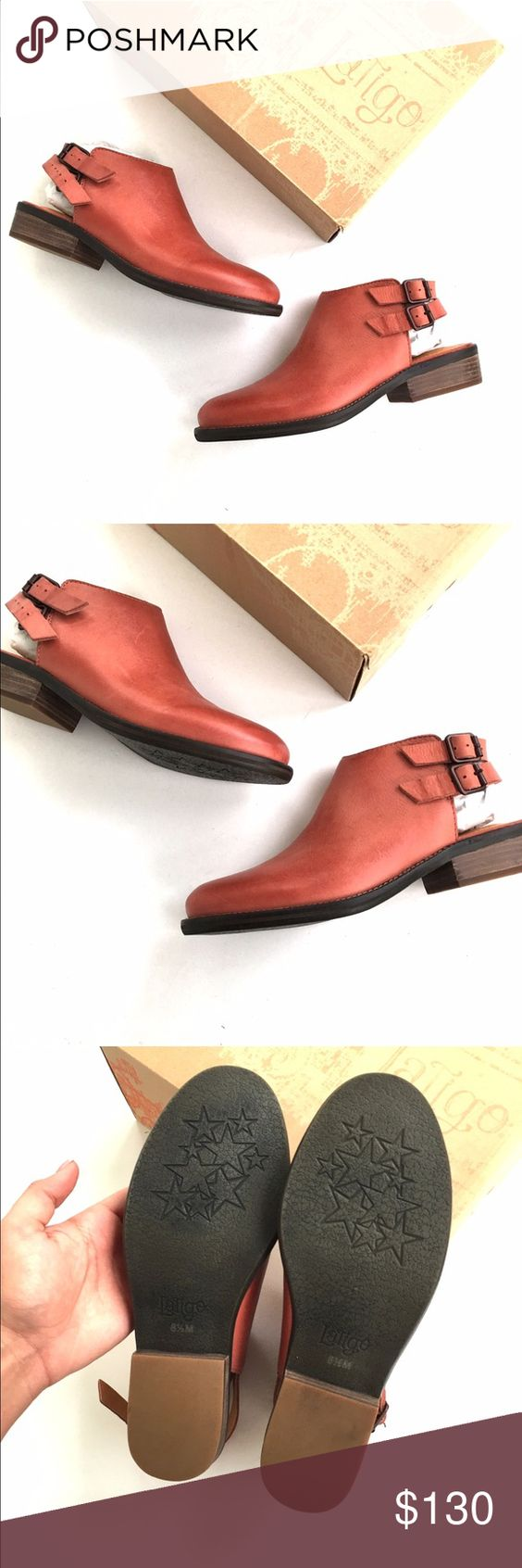 Anthro Latigo cognac buckle booties Brand new in box. Size 8.5. TTS from Anthro. Brand is latigo retail $165    •no trades•no offsite transactions•no low balls•offers considered through the offer feature only!•save when you bundle• Anthropologie Shoes Ankle Boots & Booties