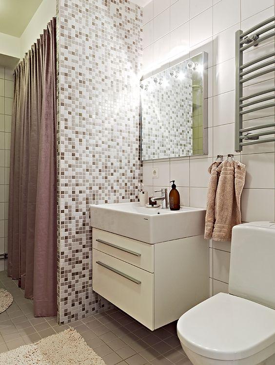 banheiros simples e economicos  Pesquisa Google  BANHEIRO  Pinterest  Sim -> Decoracao De Banheiros Com Pouco Dinheiro