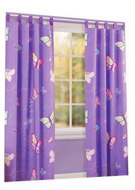Kids Butterfly Drapes Curtain Panels by American Kids, http://www ...