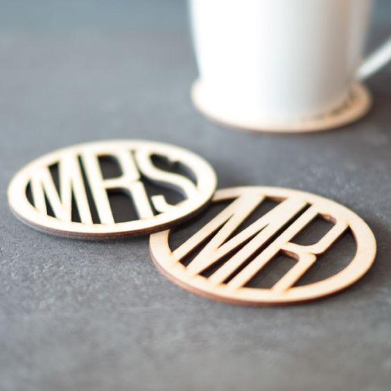 MRS & MR wood coasters!