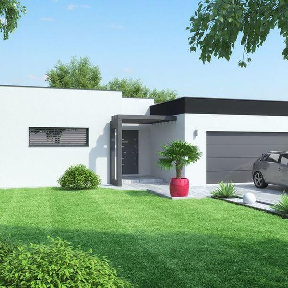 Maison fonctionnelle Construction, Bungalow and House