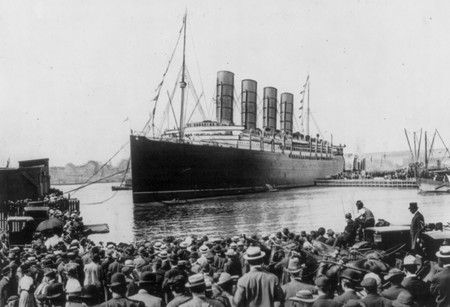 The Lusitania - www.lostliners.com: